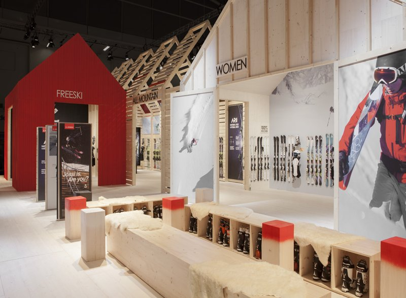 atelier 522 messestand atomic ispo 2013 design