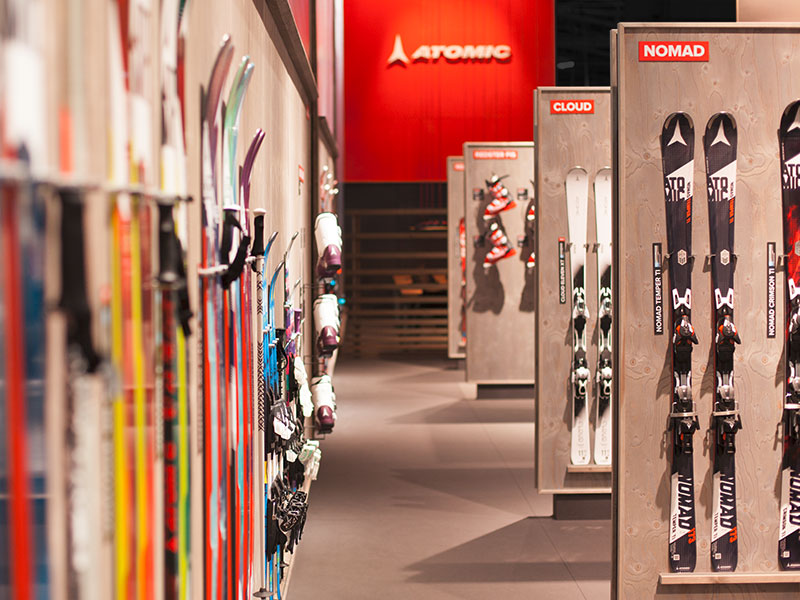 atelier 522 messestand atomic ispo 2015 design ski präsentation