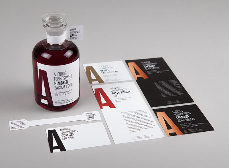 atelier 522 Corporate Design Grafik Essig Packaging