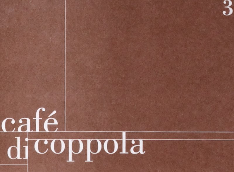atelier 522 café di coppola Corporate Design Grafik Print Speisekarte