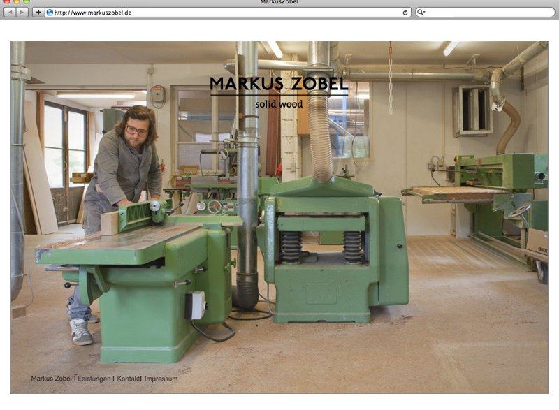 atelier 522 Markus Zobel Webdesign E-Mailing Corporate