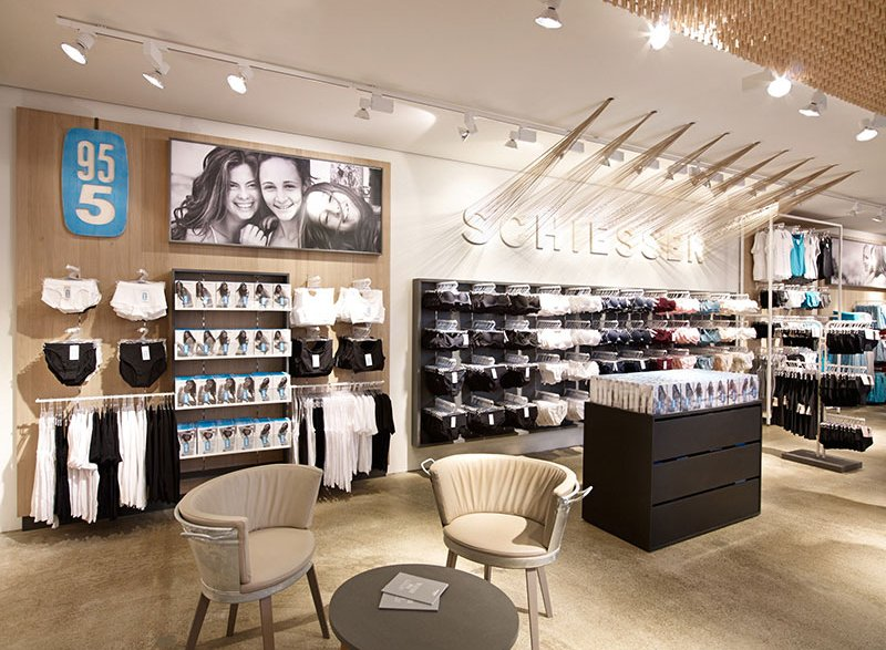 atelier 522 Retaildesign Brand Strategie strategy International Shop Konzept Concept Schiesser