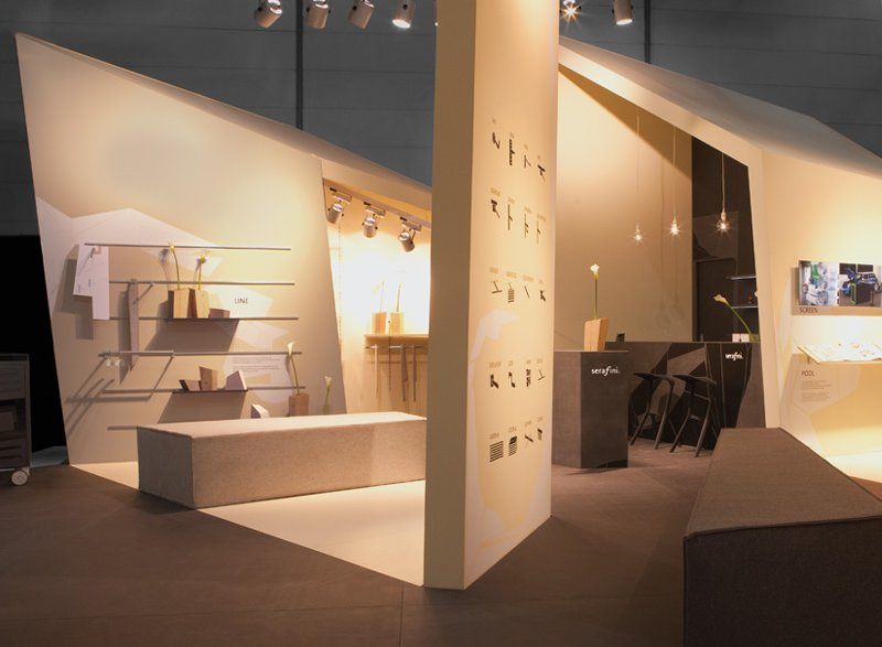 atelier 522 Messestand Design Serafini EuroShop 2011