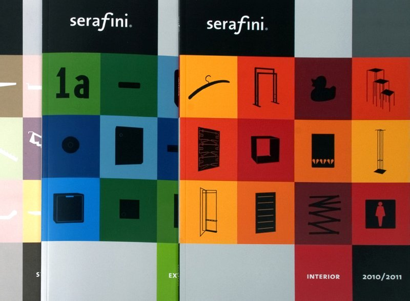 atelier 522 serafini Corporate Design Grafik Katalog