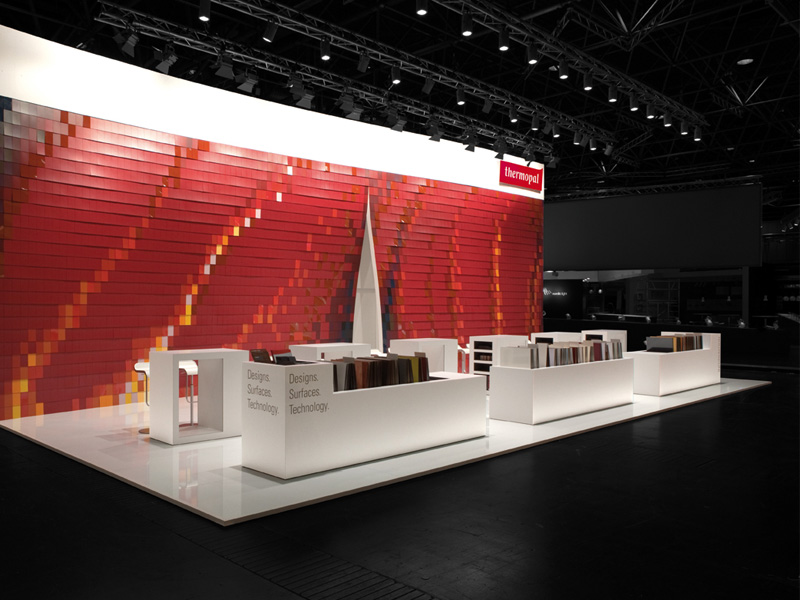 atelier 522 Thermopal Messestand Design rot
